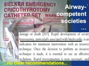 recommendation airway societies